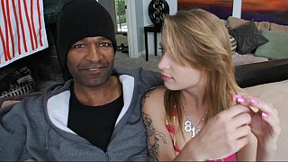 Hotvideosx Some big black dick for the petite white girl