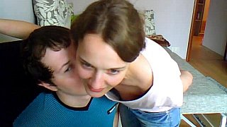 Hotvideosx Teen couple in missionary position