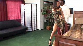 Hotvideosx Black girl taking big black cock