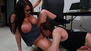 Hotvideosx Busty Brandy gets fucked by her co-worker