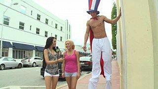 Havoc brings big things. Sex on stilts