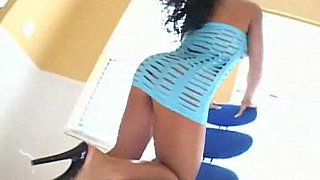 Hotvideosx Cherokee gets fucked and spermed by a big black cock