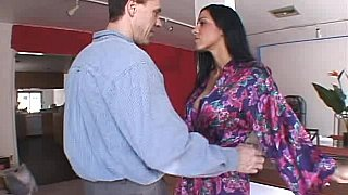 Brunette housewife gets fucked in the ass