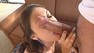 Hotvideosx Monster Cock disappeared inside this pussy