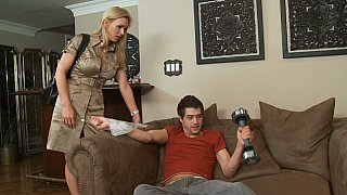 Hotvideosx Tanya Tate and her son's friend