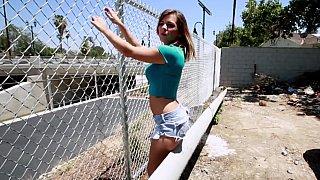 Hotvideosx Good ass white girl Keisha Grey teasing