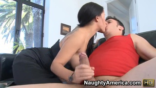 Elena Heiress making a truly sloppy nasty blowjob to her best friend