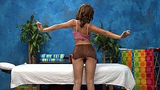 Hotvideosx Petite masseuse loves dick explorations