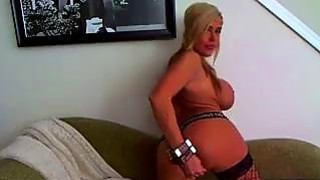 Hot Blonde Babe Toys On Cam 1