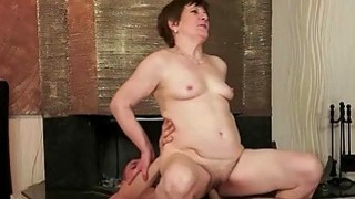 Young man fucking hot hairy granny pretty hard