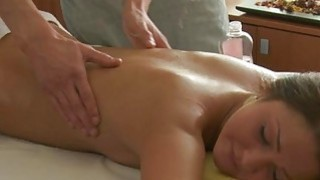 Juvenile masseur is working hard to joy horny girl