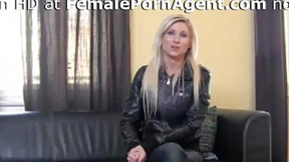 Sexy Blonde Needs A Job In Adult Industry