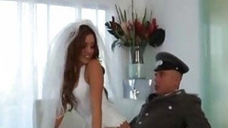 Melanie Rios - Bride fucked by a soldier