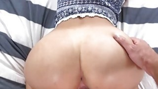 Horny Zaya Cassidy sucking a huge cock for pleasur