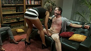 Hotvideosx Convivial wife cuckolds her husband while neighbor watches