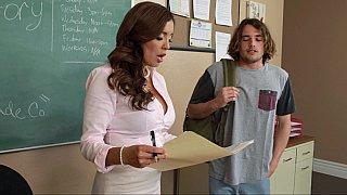 Hotvideosx Horny teacher forces student