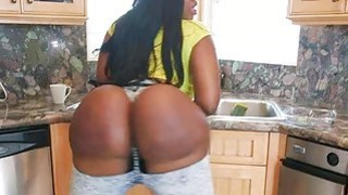 Biggest natural fucking huge ebony butt of Victoria Cakes