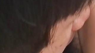 Yui gets doggy fuck in hairy twat