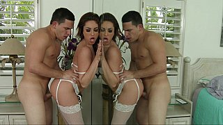 Hotvideosx Group sex with amazing nude girls party sex