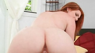 Curvy doxy starts moaning as she reaches orgasms