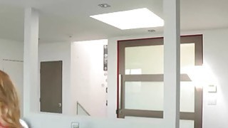 Hot blonde babe Zoey loves getting naughty with her stepmom
