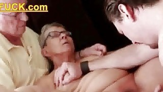 elderly husband fucked with young man
