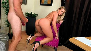 Hotvideosx Busty cougar nailed at work