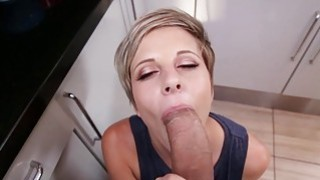 Mickey Reise fucked in kitchen