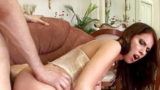 Slut charms a excited pecker with anal riding
