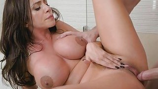 Big tittied Ariella is hungry for Kyles cock