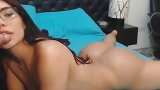 Big Ass Latina Teen with Tattoos Live Sex