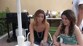 Hot brunette babe gets pounded by nasty dude for money