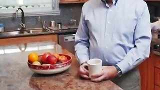 Blonde Teen Molly Gets Filled By Old Guy Cock