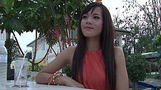 Exotic Asian teen