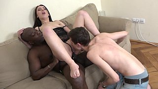 Husband recruits black to fuck his wife
