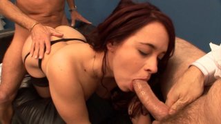 Olga Cabaeva gangbanged by her coworkers