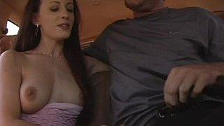 Natural tits on slutty bareback hooker Sarah Jade
