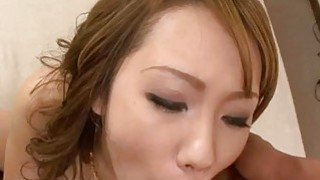 Japanese beauty Luna craves for a dazzling fuck