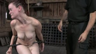 Gonzo slut Hazel Hypnotic is fited in BDSM scene