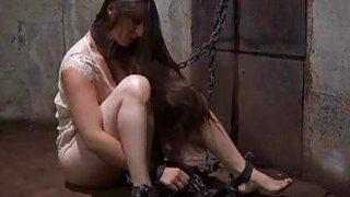 Hottie gets wild torturing