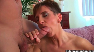 Mommy gets the cum treatment