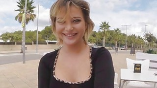 Russian chick do anal fuck right in open public