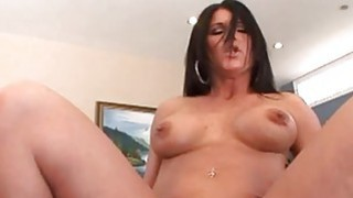 Hot lady jumping on a cock until wet orgasm