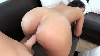 All natural Latina Ava Sanchez having doggy style sex
