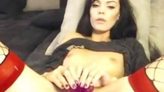 Horny brunette Webcam Toying