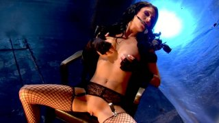 Janine James and Jessica Jaymes have small BDSM sex