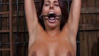 Perverted torturing of babes pussy