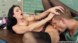 Jessica Jaymes has classroom sex with Bill