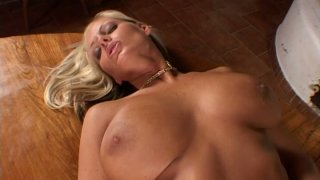 Dildo invader for Sheila Grant juicy pussy