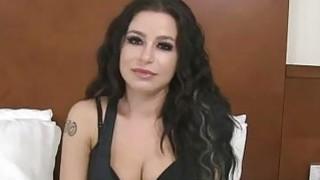 Sexy Adriana humping dick like a nympho diva